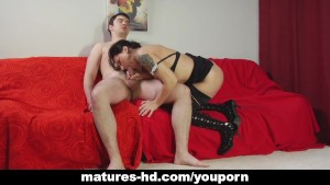 Mature lady loves that cock more than anything