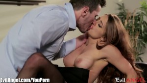 EvilAngel Veronica Vain s First Time on Camera