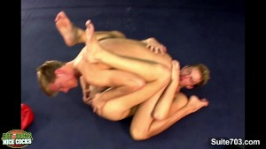 Boxing jocks having sex in the gym