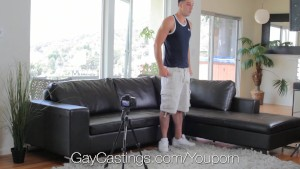 HD GayCastings - Big dick Vinnie wants to be a pornstar