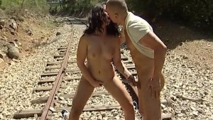 Fucking on railroad tracks - Java Productions