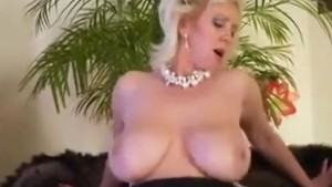 she has two big tits that look like two balloons