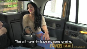 FakeTaxi Horny mistress needs big cock
