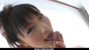 Rika Sonohara gets to swallow after massive oral
