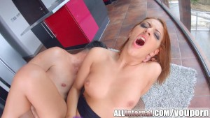 All Internal Aylin enjoys messy creampie action