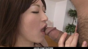 Teen Riko Oshima fucked by step dad in hardcore