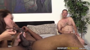 Kayla West Goes Black In Front Of A Cuckold