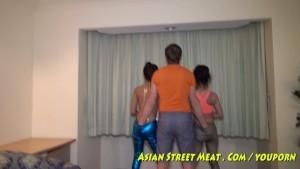 Swivel Hip Dynamic Asian Duo