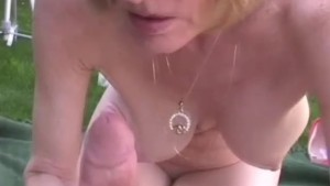 Amateur GILF Interview And Fuck