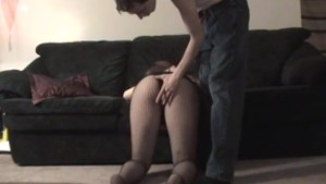 Pregnant amateur GF gives head with cum on tits