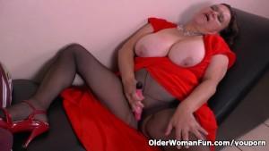 Granny Gloria s magic wand vibrator will do the trick