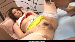Ai Yuumi blows cock before getting pumped hard