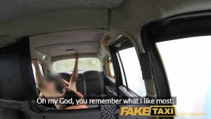 FakeTaxi London cabbie arse fucks Spanish passenger