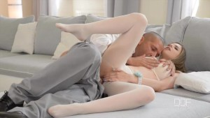 Ultra Sexy UK babe Stella Cox fucks in Pantyhose