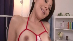 Impressive sex video with peachy tits Rosa Kawashima