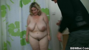 Horny burglar bangs fat hotty