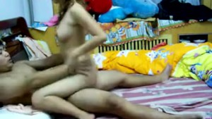 Chinese Teen Couple having Sex