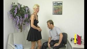 Blonde MILF mistress gets naughty - Julia Reaves