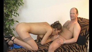 Blowjob, ball-licking and reverse-cowgirl - Julia Reaves