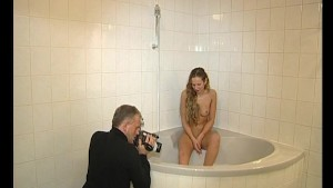 Getting filmed in the bath - Julia Reaves