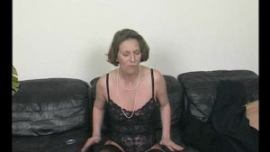Old Lady By The Couch - Julia Reaves