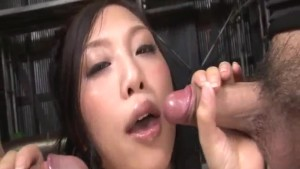 Mind blowing porn session along slutty Maki Takei