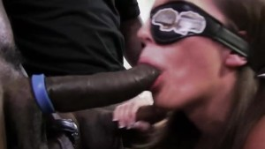 Jamie Jackson gets gangbanged by big black cock