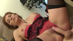NastyPlace.org - English Mother Creampied By Her Son
