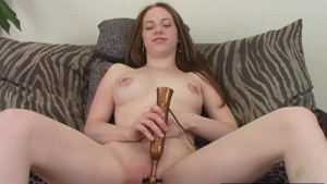 Kinky Amber Toying Her Cunt