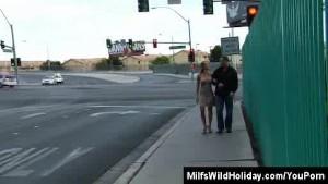 Milf Christina Stripped By A Stranger In Vegas