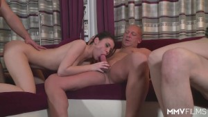 MMV FILMS Homemade German Orgy