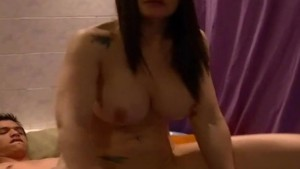 Amateur threesome on webcam with sexy latina