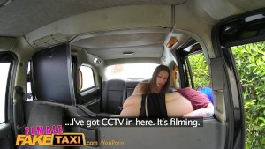 FemaleFakeTaxi Hot emo chick tastes drivers pussy