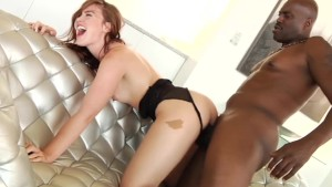 Jodi Taylor anal slammed with huge black dick