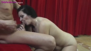 Sucked by mature whore