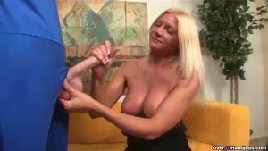 Blonde Milf s Been Greated By A Big Dick