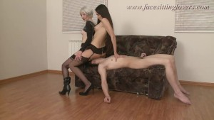 FacesittingLovers - A crazy ride for two dominas
