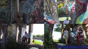 PHILAVISE- Outdoor multi angle with Milf Alyssa Lynn