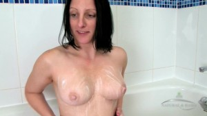 Big ass russian lady take a shower