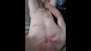 Amateur guy teases with hard cock