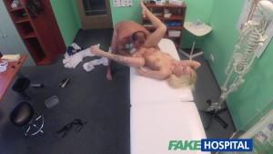 Fake Hospital Tattood Blonde Loves Doctors Dick