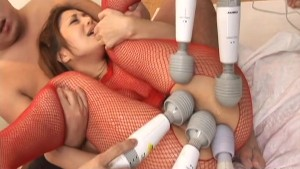 Asian cuttie has a pair of cocks to suck on