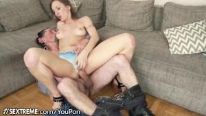 Grandpa goes Hard with Young Polish Babe