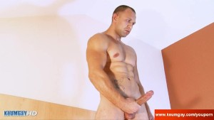 Full video: A innocent str8 neighbour serviced his big cock by a guy!