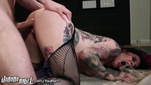 JoannaAngel Slaying Ass in Fishnets