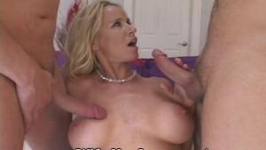 Love 2 Cocks Inside Her