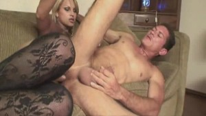 Horny Shemale Gets Bareback Fuck and Good Suck