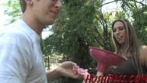 Alisandra hot milf loves big young cock!
