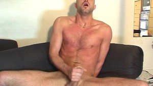 A innocent str8 delivery guy serviced his big cock by a guy!