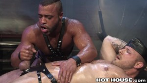 HotHouse Bound Hunks Intense and Sweaty Assfuck